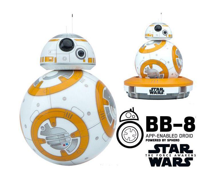 Sphero BB-8 Star Wars Bluetooth пульт дистанционного управления робот Интеллектуальный маленький шарик разведки игрушки для подарок для ребенка Бесплат...