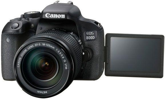 Canon 800D T7i DSLR Kamera Körper & EFS 18-135mm F3.5-5.6 IS STM Objektiv