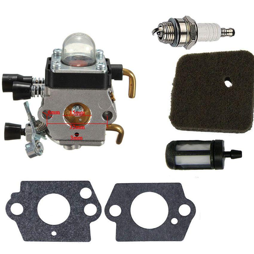 CARBURETOR REPAIR KIT FOR STIHL FS38 FS45 FS46 FS55 ZAMA C1Q-S66 C1Q-S71 C1Q-S97 trimmers Brush Cutters