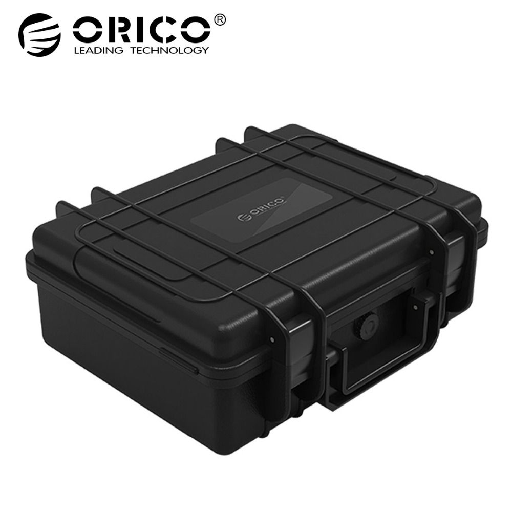 ORICO 3.5 inch 20-bay 3.5 inch HDD Hard Drive External Protection Storage Case Box Portable Multi Bay Water\Dust\Shock-proof