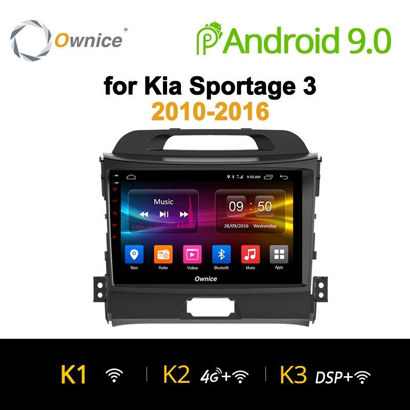 Ownice K1 K2 Android 9.0 acht Core für KIA KX5 2016 Sportage 3 4 2007-2016 Auto Radio 2 din navi GPS player unterstützung 4G LTE DVR