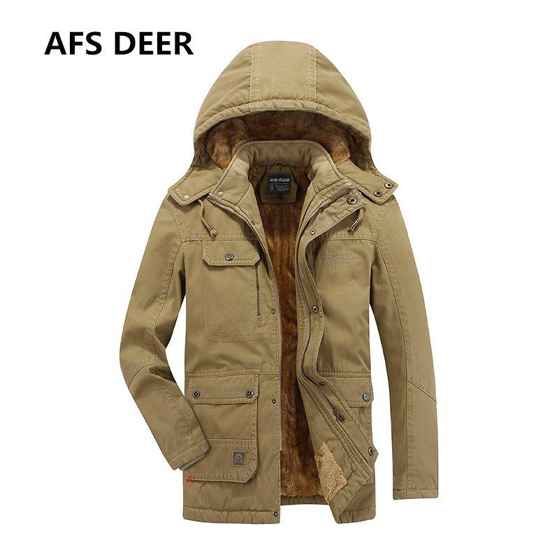 2017 marke Männer Winter Fleece Jacke Männer Warme Kapuzenmantel männer Unten Baumwolle Gepolsterte Kleidung Jacken Männliche Ente Unten Mit Kapuze mäntel