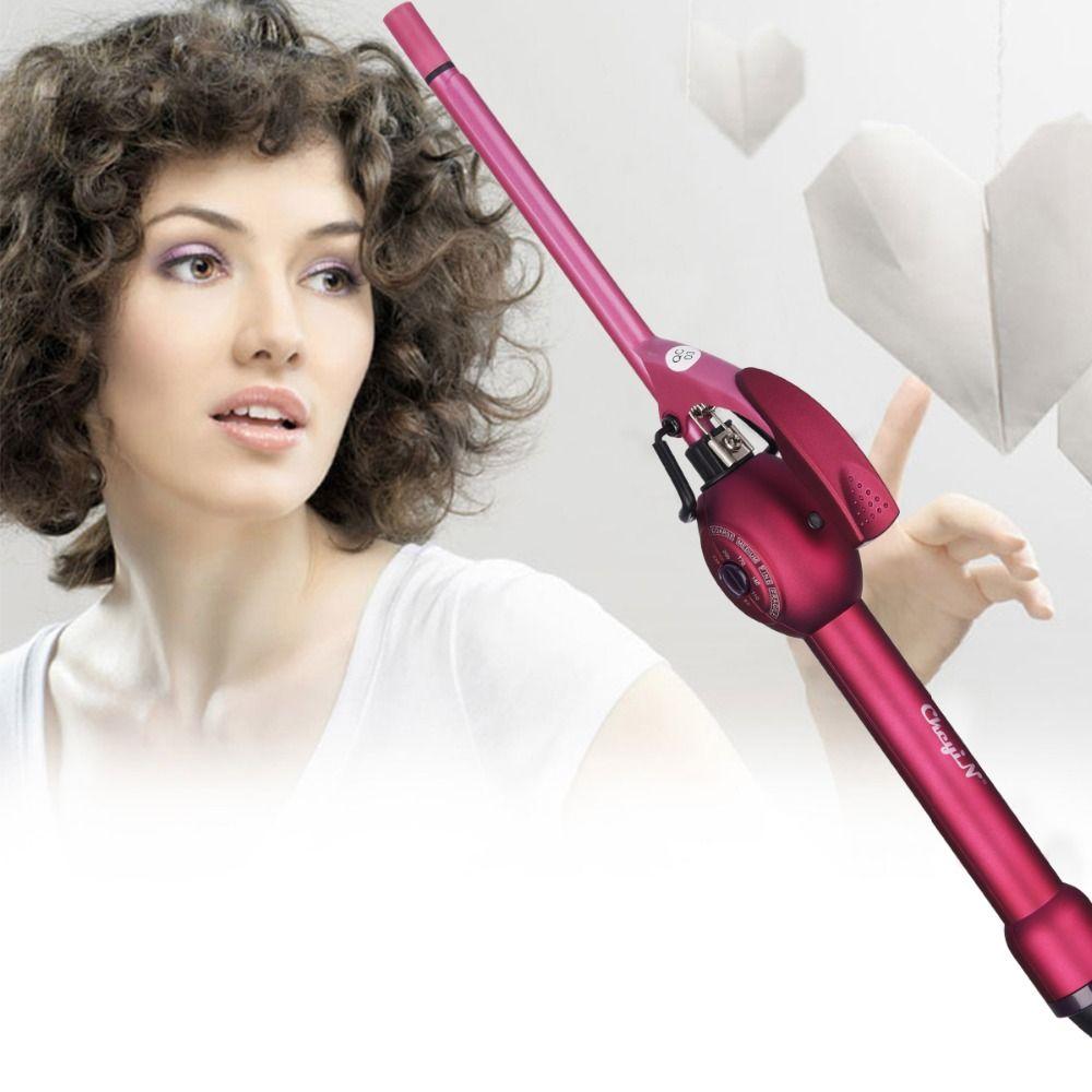 9mm profond bouclés cheveux Styler boucles en céramique Curling fer mode baguette bigoudi poire bigoudis rouleaux haute qualité Curling baguette 45