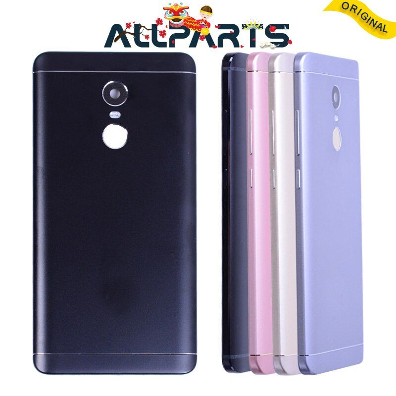 Logement Pour XIAOMI Redmi Note 4X Retour Couvercle de La Batterie Cas de Puissance Volume Bouton Caméra Objectif Pour XIAOMI Redmi Note 4X Batterie Couverture