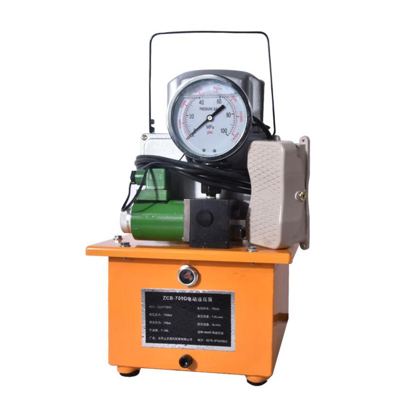 ZCB-700D 7L Heißer verkauf Hydraulische elektrische pumpe 70Mpa 220 v/380 v 750 watt