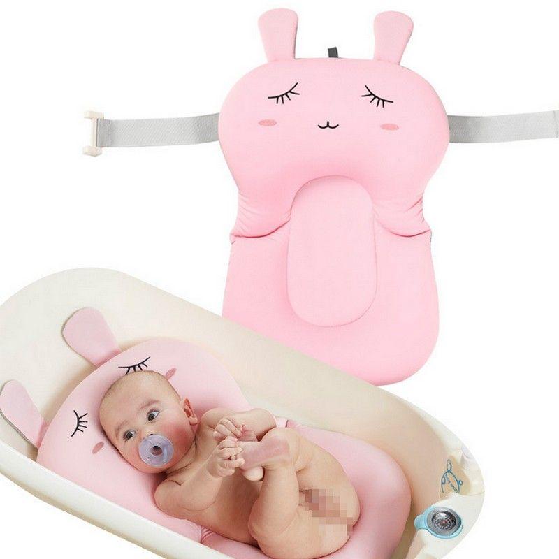 Foldable Baby Bath Tub/Bed/Pad Bath Chair/Shelf Baby Shower Nets Newborn Baby Bath Seat Infant Bath Bathtub Support