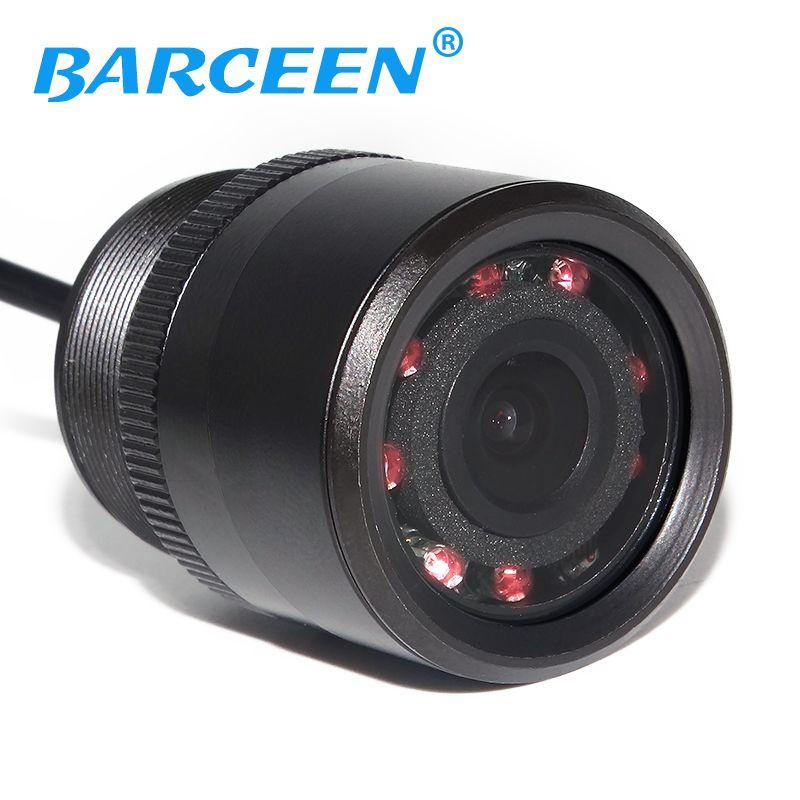 Usine promotion voiture vue arrière caméra de recul caméra de stationnement moniteur avec IR Vision nocturne 170 degrés livraison gratuite