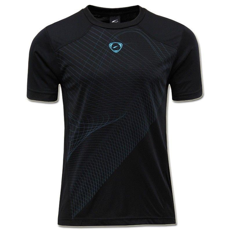 Jeansian hommes Sport T-shirts T-shirts course entraînement entraînement Gym Fitness course Yoga LSL069