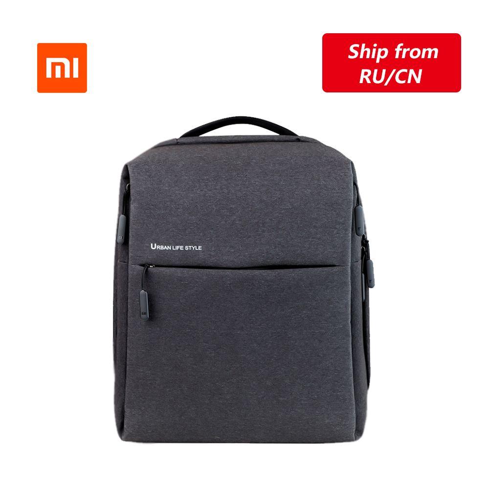 Sac à dos Original Xiao mi mi sac à bandoulière Style de vie urbaine sac à dos sac à dos sac d'école sac polochon pour ordinateur portable 14 pouces