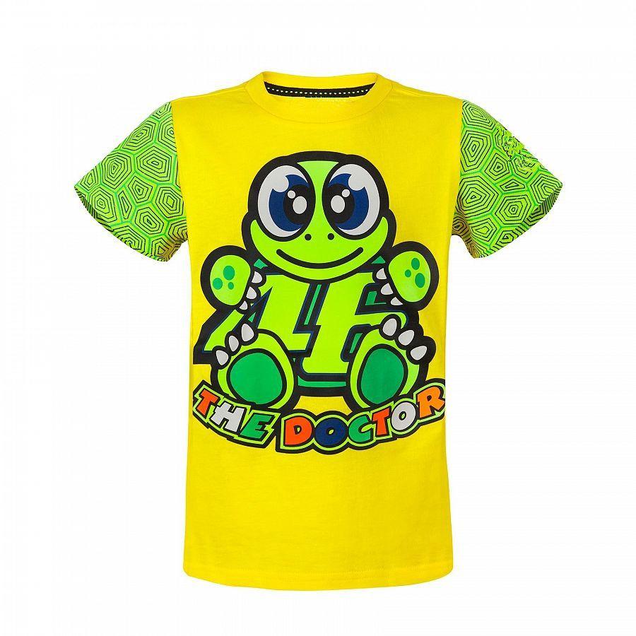 Free Shipping Motorcycle Kids t-shirt MotoGP 46 Valen Rossi Children's Turtle pattern t-shirt VR46
