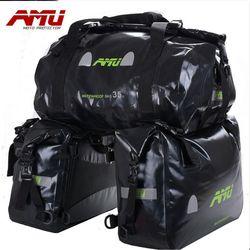 Amu Motores ciclo Saddle Bolsas impermeable moto tanque bolsa Motores bici Bolsas viajes aceite equipaje Motores silla bolsas
