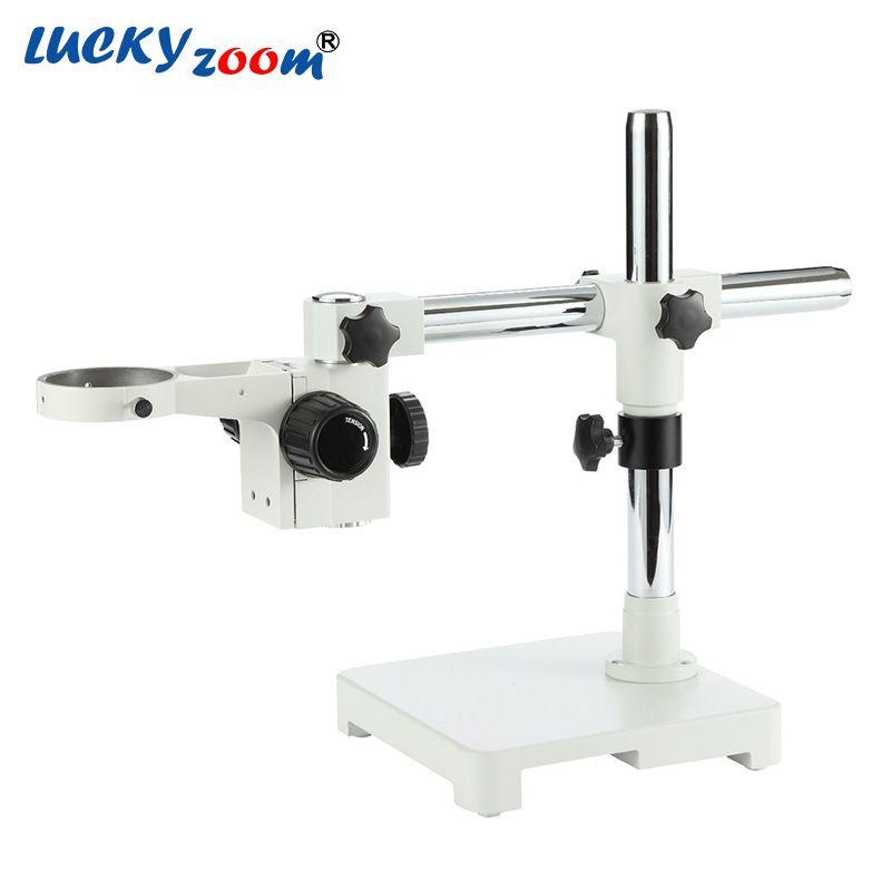 Glück Zoom Einstellbar Mikroskop Stehen Einzel Boom Schwere A1 Arm Für Binocular Trinocular Stereo Mikroskop Kopf 76mm Zubehör