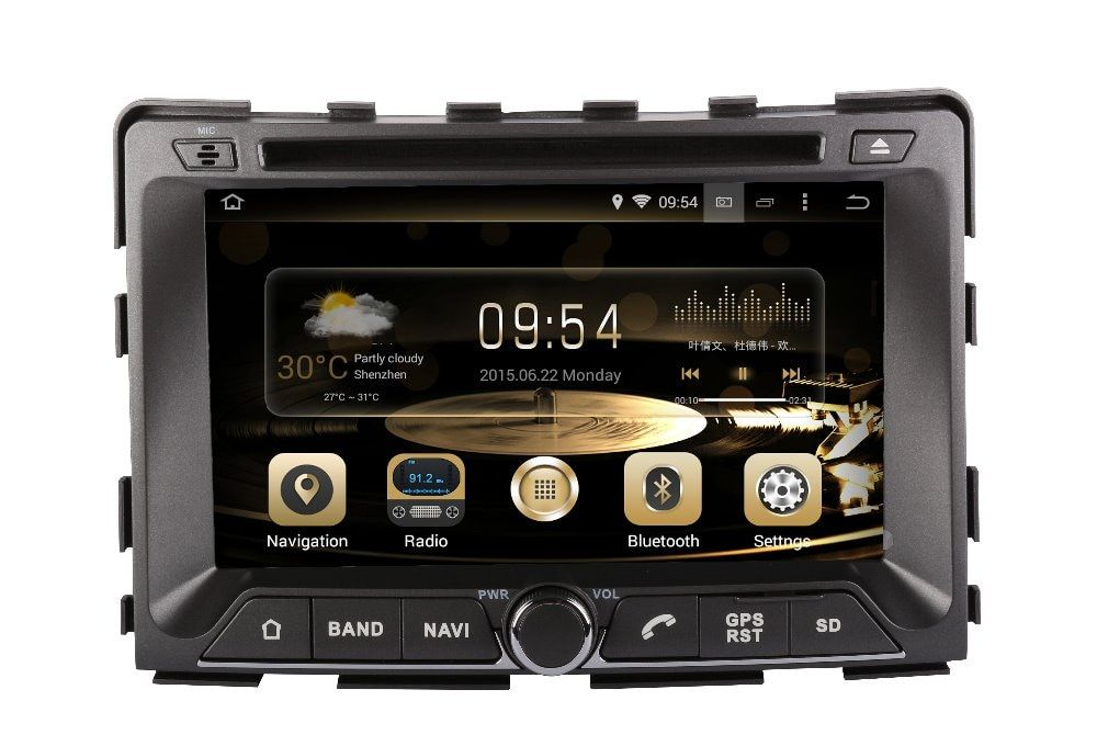 car DVD multimedia player for SsangYong RODIUS 2006-2017 android7.1.1 HD 1024*600 autoradio 3G wifi dvr gps navi free map camera