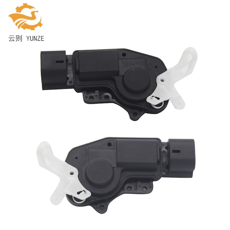 2PCS REAR LEFT RIGHT SIDE CENTRAL DOOR LOCK ACTUATOR MECHANISM FOR TOYOTA COROLLA ALTIS VERSO FIELDER WILL IPSUM