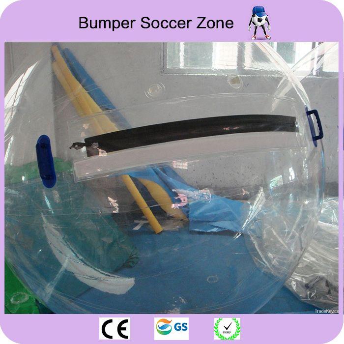 Freies Verschiffen 0,8mm TPU 2,0 mt Durchmesser Aufblasbare Wasser Zu Fuß Ball wasser ballon Zorb Ball Auf Dem Wasser Zu Fuß Ball Wasser Ball