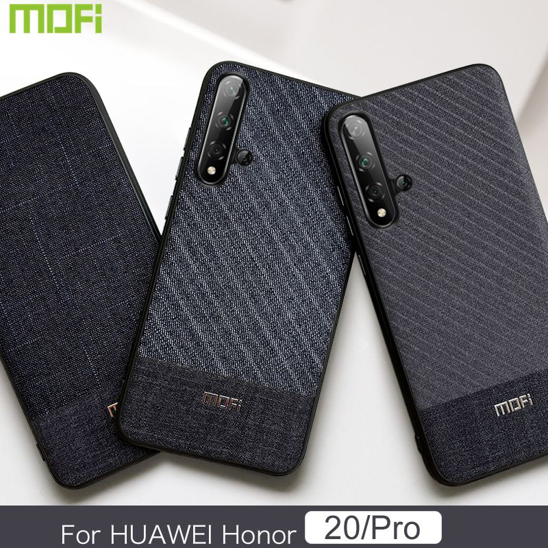 Honor 20 Pro Case Mofi For Huawei Honor 20 Pro Case Honor 20 Case Suit Cloth Fabrics Gentleman Handcraft For Huawei Honor 20