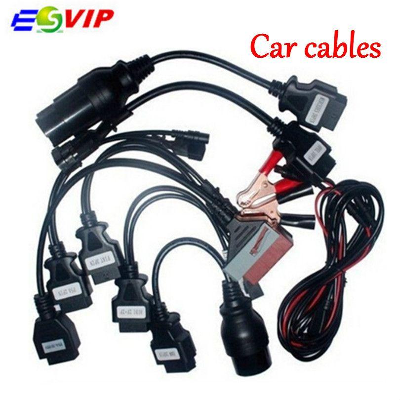 Full set 8 Car Cable OBD2 Auto Diagnostic Tool Interface for TCS CDP Pro TCS CDP VCI MultiDiag MVD