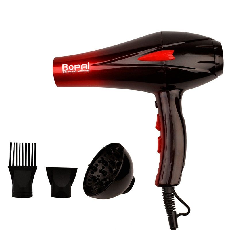 <font><b>4000W</b></font> Professional Hair Dryer High Power Styling Tools Blow Dryer Hot and Cold EU Plug Hairdryer 220-240V Machine HS122 S50