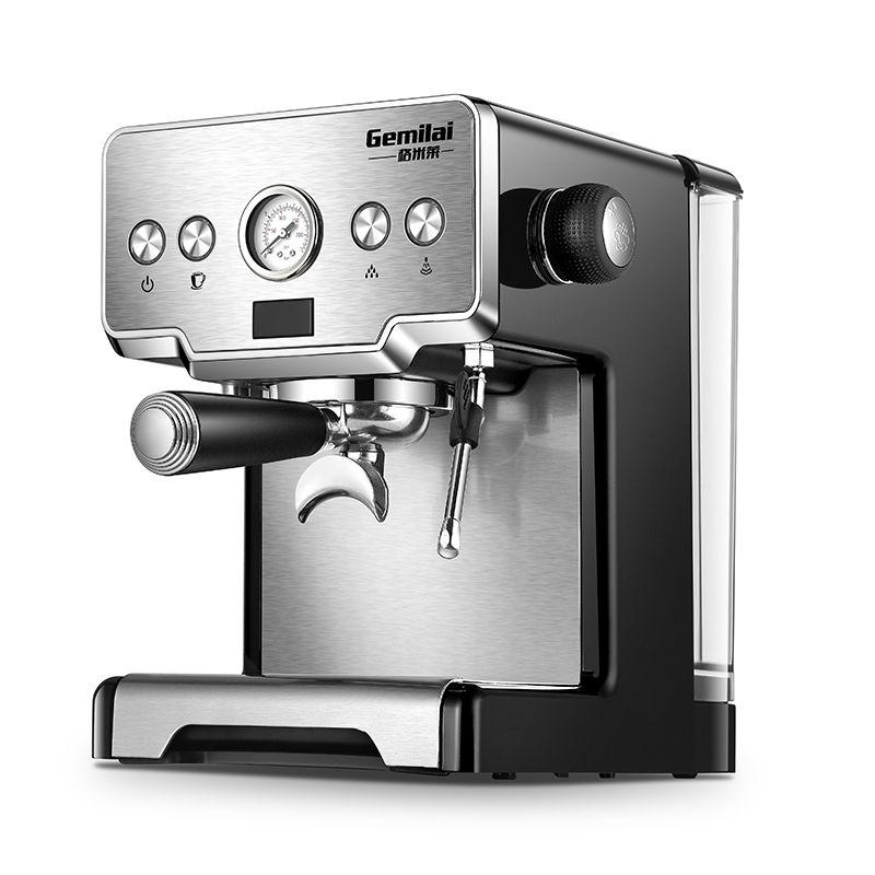 Italienische Kaffee Maschine Für Home 15 Bar Edelstahl Dampf Halbautomatische Milch Blase Espresso Kaffee Maker Kommerziellen CRM3605