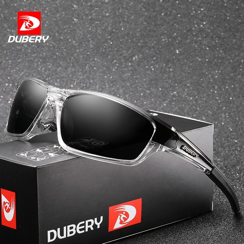 Dubéry marque Design hommes lunettes polarisées noir pilote lunettes de soleil UV400 nuances rétro mode soleil verre pour hommes modèle 620