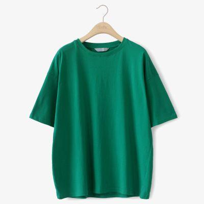 2018 summer loose fitting T-shirt short sleeves regular