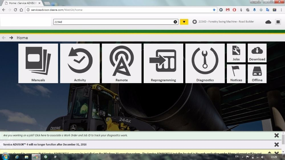 For New JD SattvDiag 5.2 AG [2017] Agricultural Machines Multi-Languages Full set Offline+HDD 500GB for john