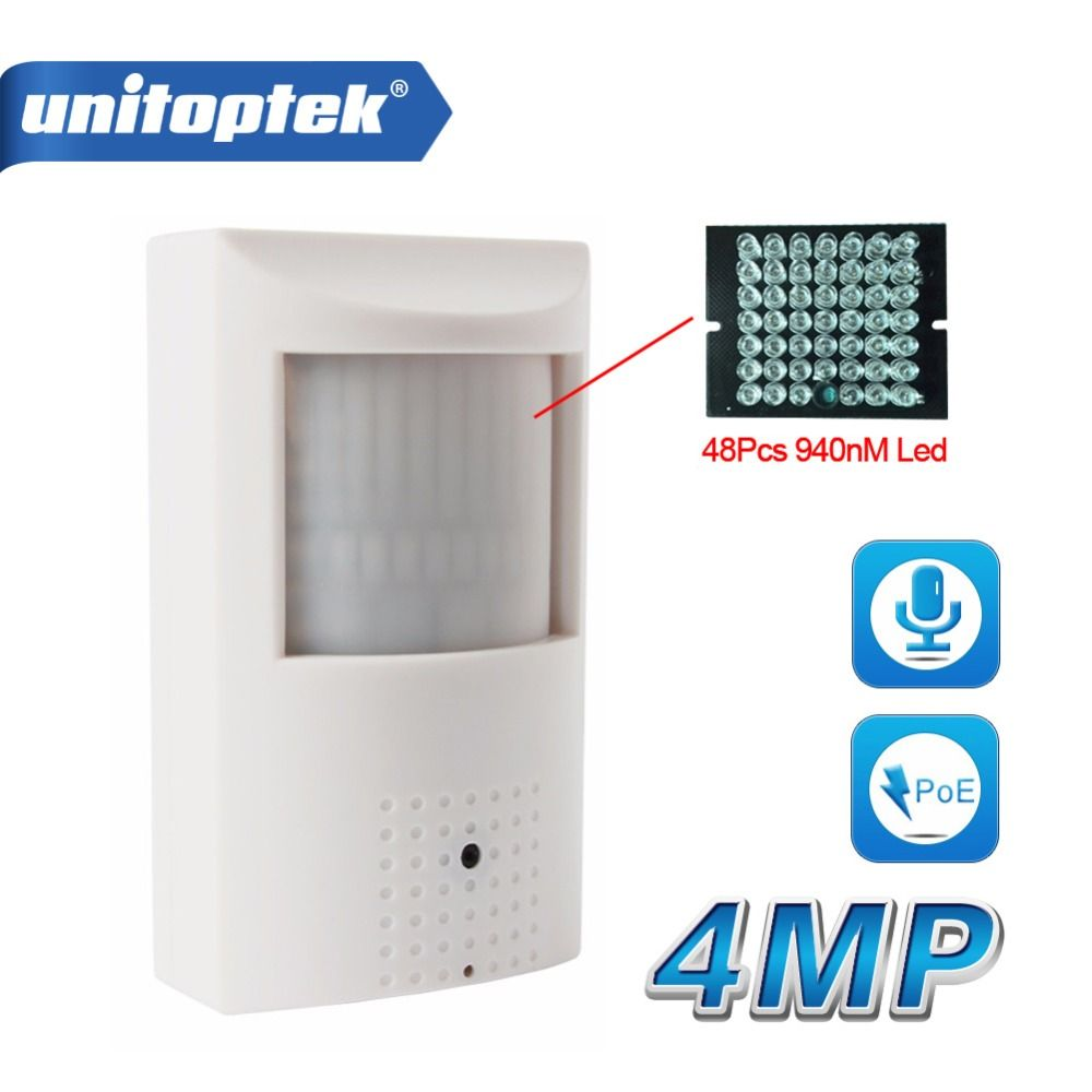 H.265/H.264 HD 4MP IP Camera PoE PIR Style CCTV Security Mini 3MP IP Camera Audio WIFI Onvif + Invisible IR 940nm Night Vision