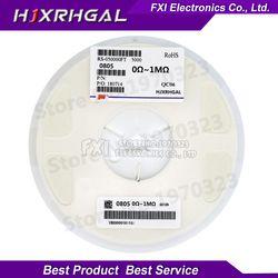 5000Pcs 0805 SMD 1/4W 0R ~ 10M Resistor Chip 0 10R 100R 220R 330R 470R 1K 4.7K 10K 47K 100K 0 10 100 330 470 Ohm