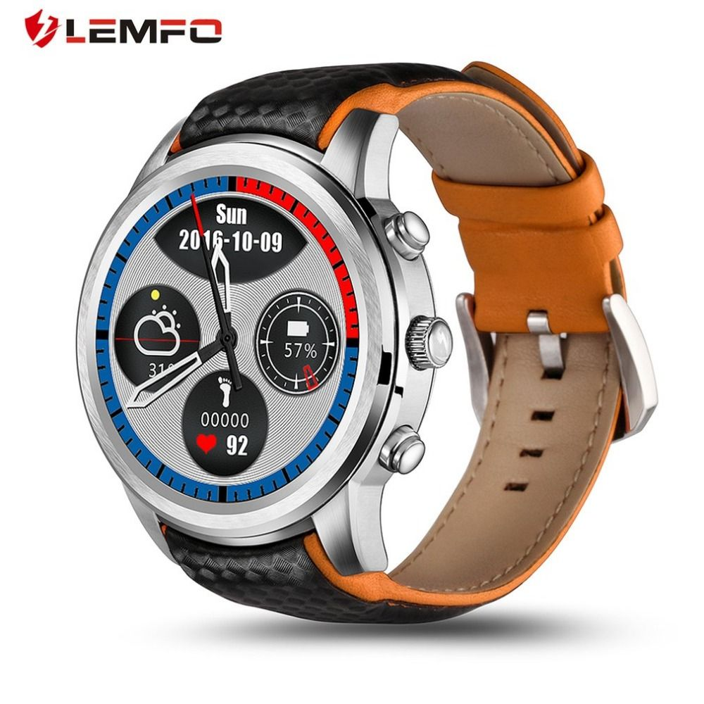 Original LEMFO LEM5 Smart Watch Android 5.1 OS MTK6850 1.39