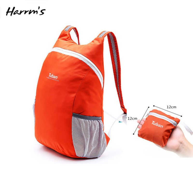 High Quality 8 Color Lightweight Nylon Foldable Backpack Waterproof Backpack Portable Pack For Women Men Travel Shoulder Bags