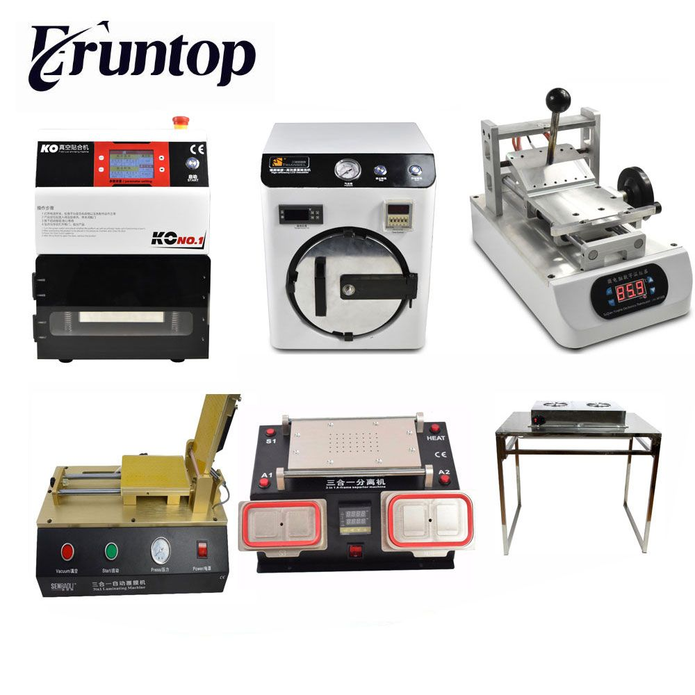 7inch Classical KO No.1 Universal OCA Vacuum Laminator + Autoclave Bubble Remove LCD Screen Press Machine