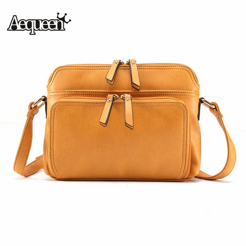 Osmond féminin Bolsa Crossbody sacs pour femmes Messenger sacs femme en cuir sacs sacs à main dames fourre-tout Sac à main petit Sac à bandoulière