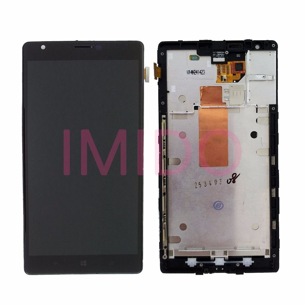For Nokia Lumia <font><b>1520</b></font> RM-937 RM-940 LCD Display+Touch Screen Digitizer Assembly+Frame Replacement Parts