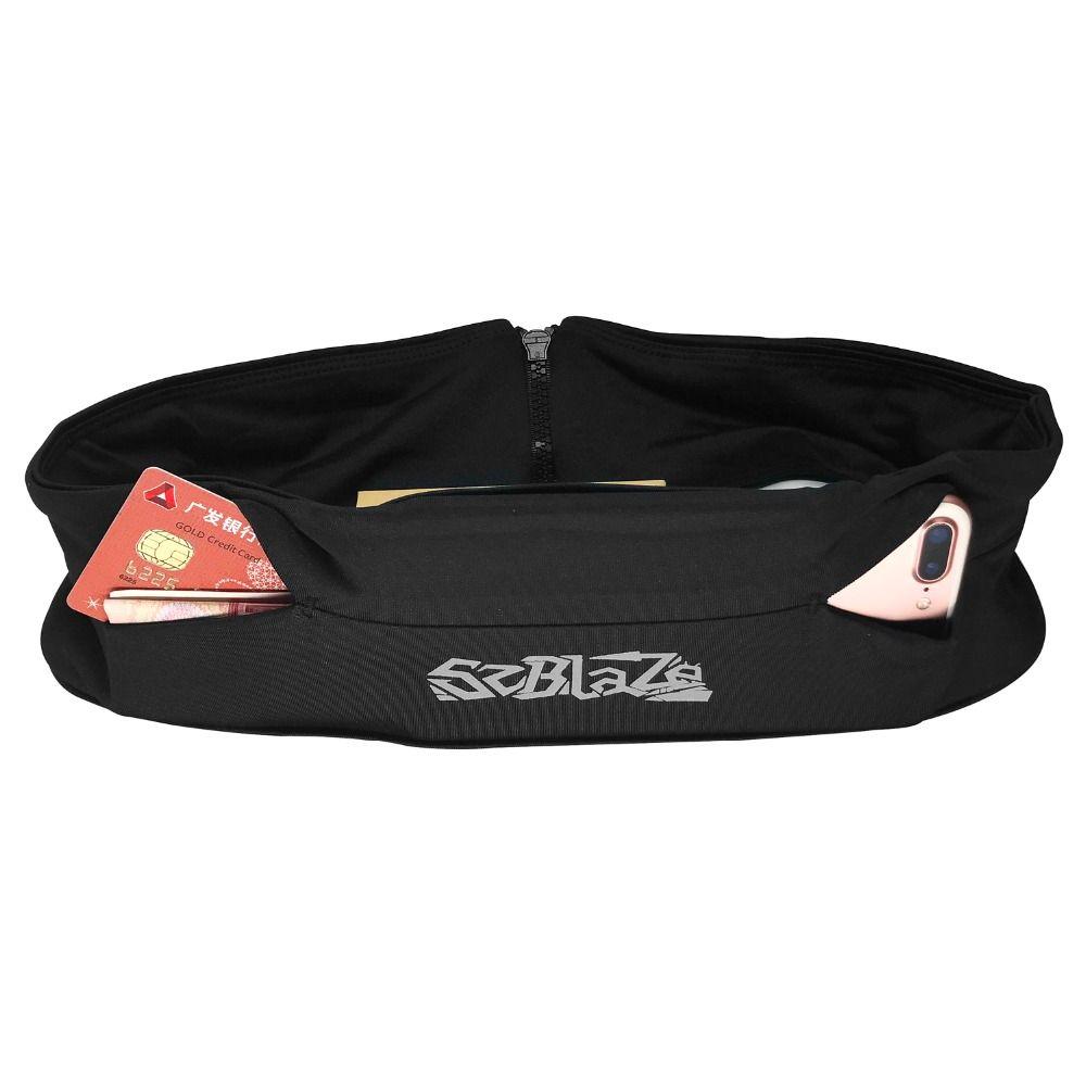 Qualité Multifonction Sac de Taille Courir Unisexe Flexible Marathon Jogging Poche Gym Fitness Sport WaistPack pour 5.5