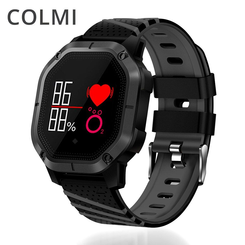 COLMI K5 Smart watch IP68 Waterproof Multiple Sports Modes Cycling Swimming Heart Rate Monitor <font><b>Blood</b></font> oxygen <font><b>Blood</b></font> pressure Clock