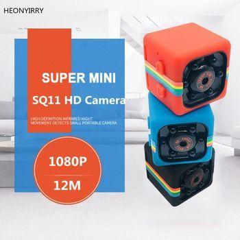 Sq11 البسيطة كاميرا HD 1080P الاستشعار للرؤية الليلية كاميرا الحركة DVR كاميرا دقيقة الرياضة فيديو رقمي كاميرا صغيرة كاميرا SQ 11 SQ12 SQ13