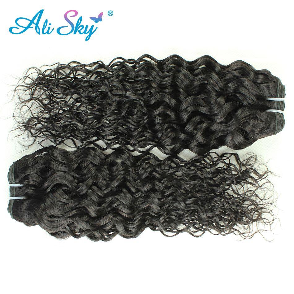 Remy peruano onda de agua 1 pieza 100% extensión del pelo humano que teje natural negro trama gruesa puede comprar 3or4 paquetes