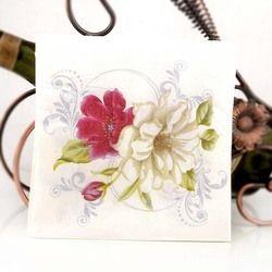 Nueva flor blanca lirio papel servilletas café & Party Tissue servilletas Decoupage decoración papel 33 cm * 33 cm 20 unids/pack/lot