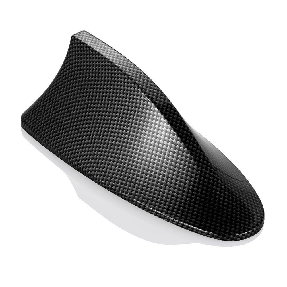 Carbon Fiber Car Radio Shark Fin Car Shark Antenna Signal For Ford Focus/BMW/Honda/Toyota/Hyundai/VW/Kia/Nissan Car Styling