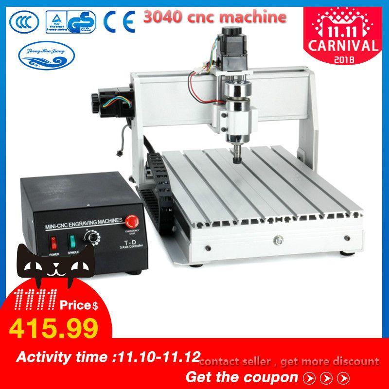 300W/800W/1500W CNC Machine 3040 T-D 3-axis CNC Router Engraver Milling Mini CNC 3040 Manufacturer
