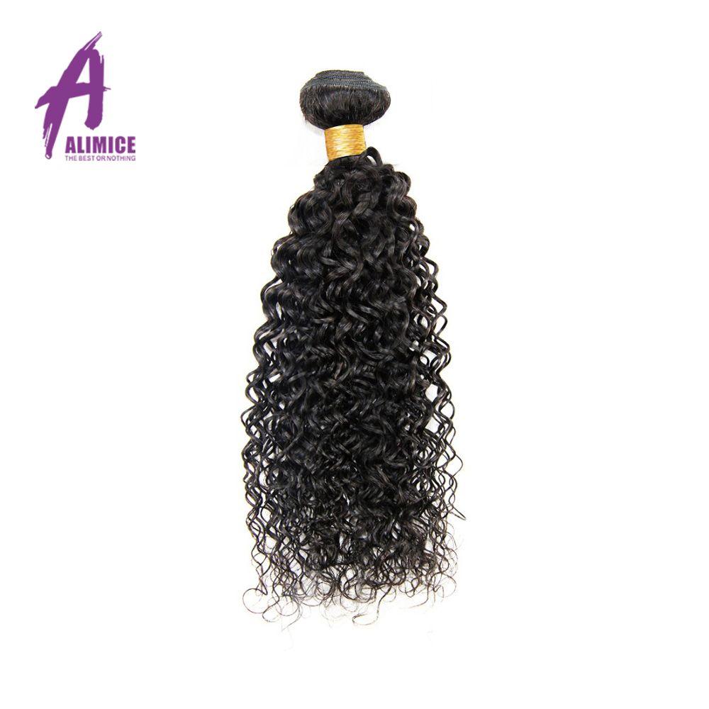 Alimice Cheveux Vague Brésilienne de Cheveux Humains Weave Bundles 100% Cheveux Tissage Non Remy Extensions de Cheveux 100 g/pc Livraison Gratuite