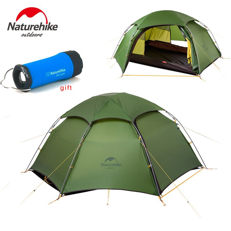 NEW ! NatureHike cloud peak tent ultralight two man camping hiking outdoor tent NH17K240-Y