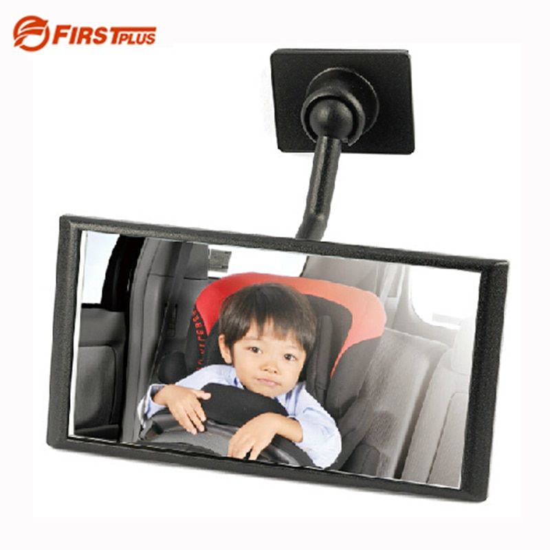 360 Adjustable Baby Auto Rear View In-Sight Mirror Car Dashboard Roof Mount For Child Car Seat Kids Travel 3M Sticker