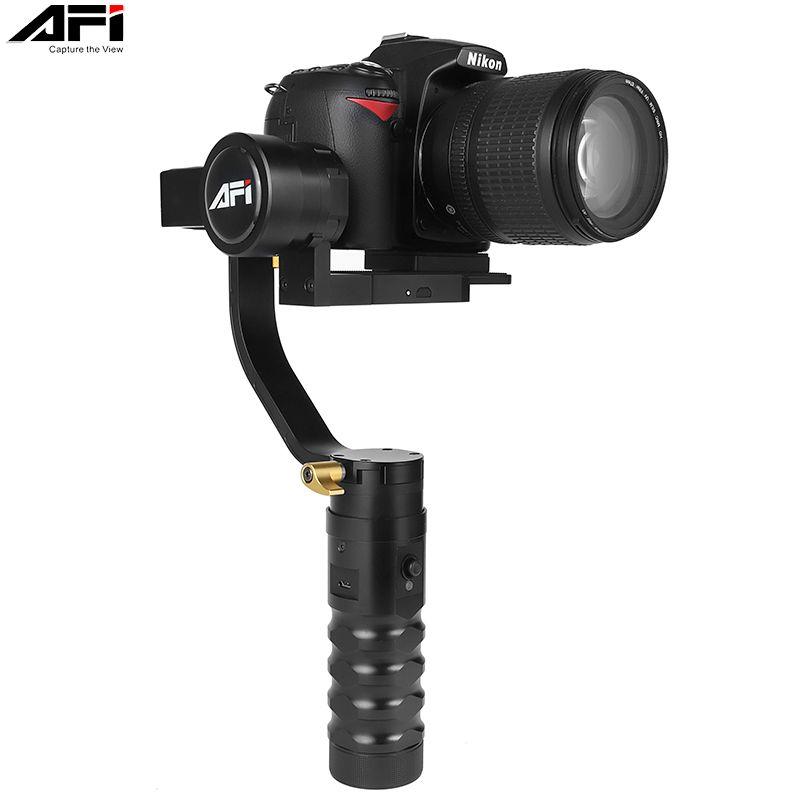 AFI VS-3SD cardan stabilisateur de caméra dslr soporte portable 3 axes cardan vidéo mobile sans balai avec Servo suivre la mise au point