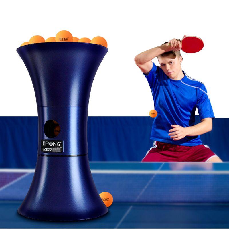 IPONG V300 Tischtennis Roboter ausbildung Neue verbesserte version von automatische portion maschine ping pong tenis de mesa
