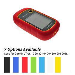 Hiking luar Handheld GPS Navigator Aksesoris Silikon Karet Kasus Kulit untuk Garmin eTrex 10 20 30 10x20x30x201 201x 309x