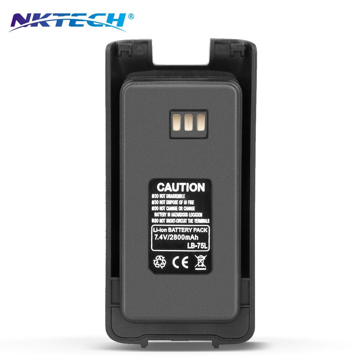 NKTECH Walkie Talkie 7,4 V 2800 mAh Li-Ion Batterie Wasserdicht Für TYT Tytera DMR MD-390 MD-390GPS Digitalen Mobilfunk Transceiver
