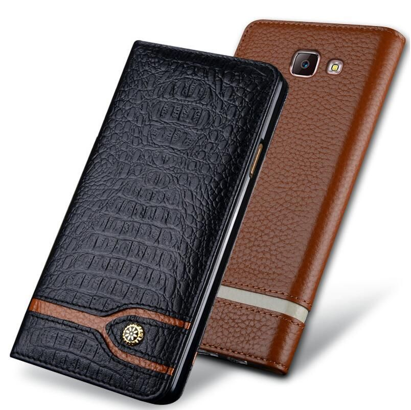 New Luxury Original Brand Genuine Crocodile Leather Phone Cases For Xiaomi Mi Note2 Fashion Phone Bags For Xiaomi Mi Note 2