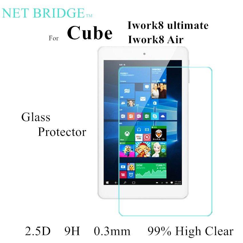Pour Iwork 8 En Verre Trempé film de Protection Pour Cube iwork8 air verre Protecteur écran garde pour iwork 8 air Protéger Film