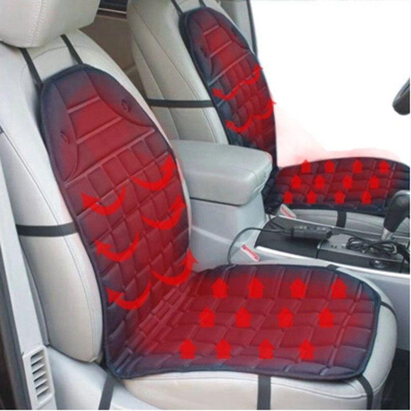 12 V siège de voiture chauffant housse de coussin, réchauffeur de chauffage, hiver ménage coussin conducteur coussin de siège chauffant